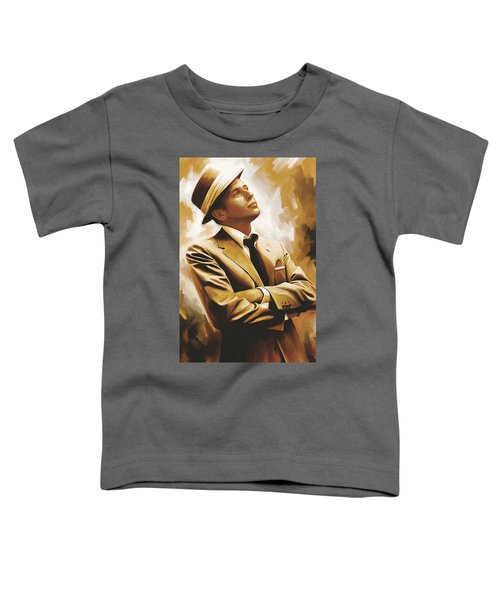 Frank Sinatra Artwork 1 Toddler T-Shirt