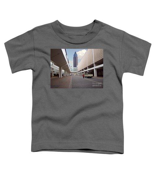 Frankfurter Messe Turm Toddler T-Shirt