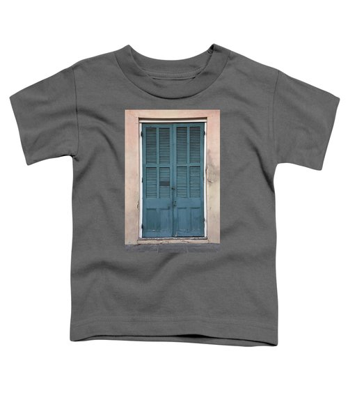 French Quarter Doors Toddler T-Shirt