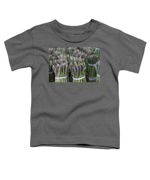 Fresh Asparagus Toddler T-Shirt by Mike  Dawson