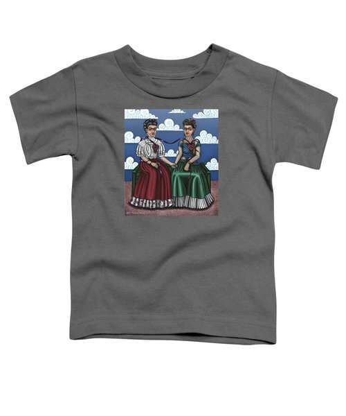 Frida Beside Myself Toddler T-Shirt