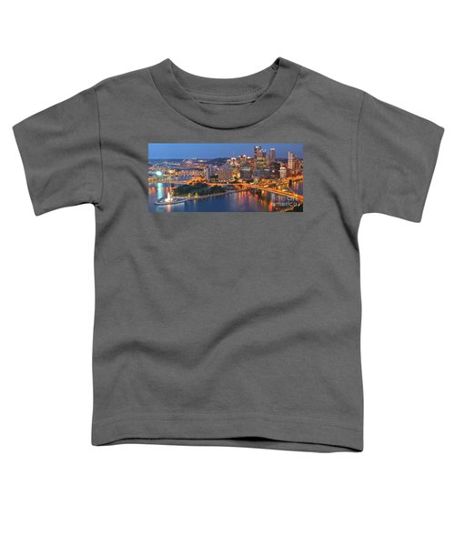 From The Fountain To Ft. Pitt Toddler T-Shirt