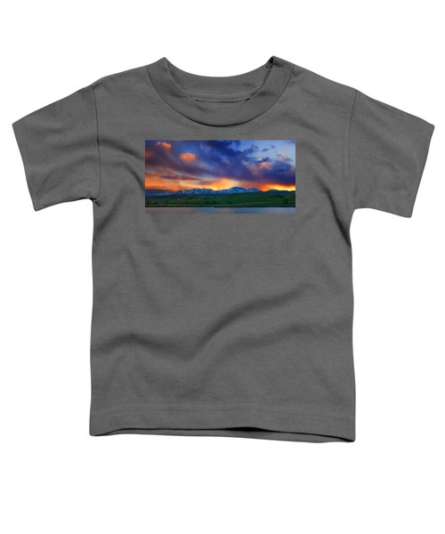 Front Range Light Show Toddler T-Shirt