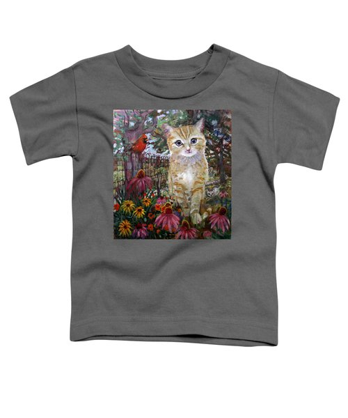 Front Yard Kitty Toddler T-Shirt