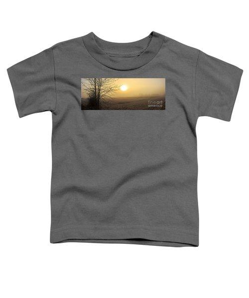 Frosty Sunrise Toddler T-Shirt