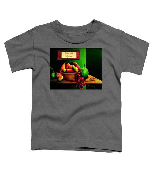 Fruits Still Life Toddler T-Shirt