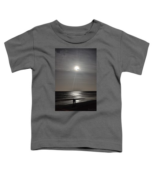 Full Moon Over Daytona Beach Toddler T-Shirt