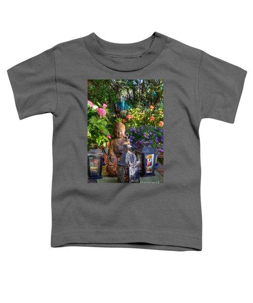 Garden Meditation Toddler T-Shirt