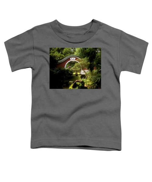 Garden Moon Gate 21e Toddler T-Shirt