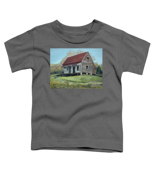 Gates Chapel - Ellijay Ga - Old Homestead Toddler T-Shirt