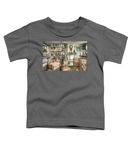 General Store - 19th Century Seaport Village Toddler T-Shirt