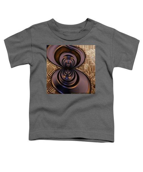 Gilded Fractal 2 Toddler T-Shirt