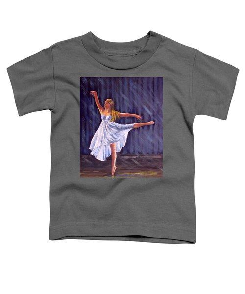 Girl Ballet Dancing Toddler T-Shirt