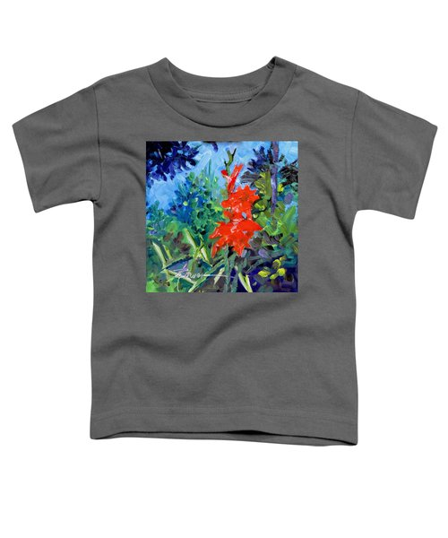 Gladiolus Toddler T-Shirt
