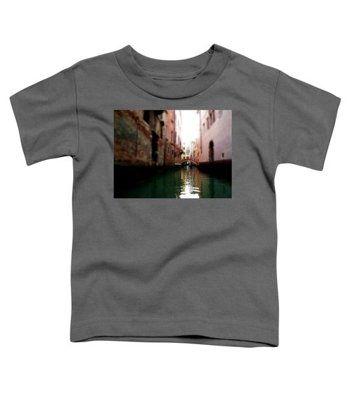 Gliding Along The Canal  Toddler T-Shirt