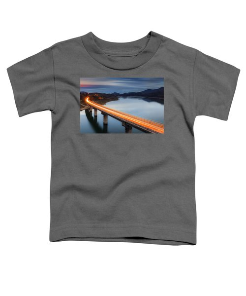 Glowing Bridge Toddler T-Shirt
