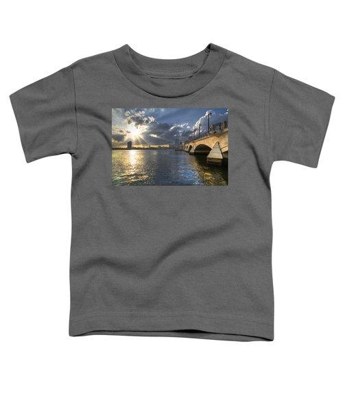 God's Light Over West Palm Beach Toddler T-Shirt