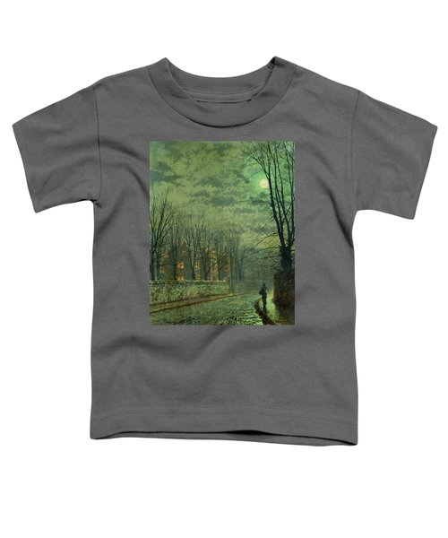 Going Home By Moonlight Toddler T-Shirt