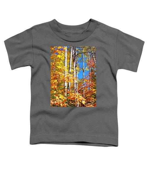 Gold Autumn Toddler T-Shirt