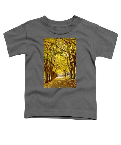 Golden Canopy Toddler T-Shirt