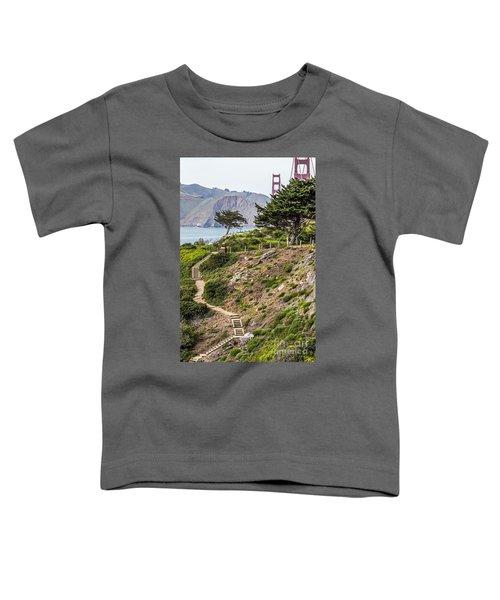 Golden Gate Trail Toddler T-Shirt