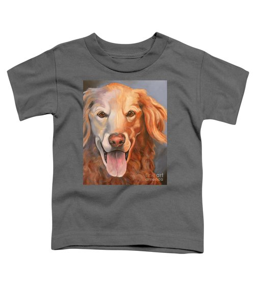 Golden Retriever Till There Was You Toddler T-Shirt