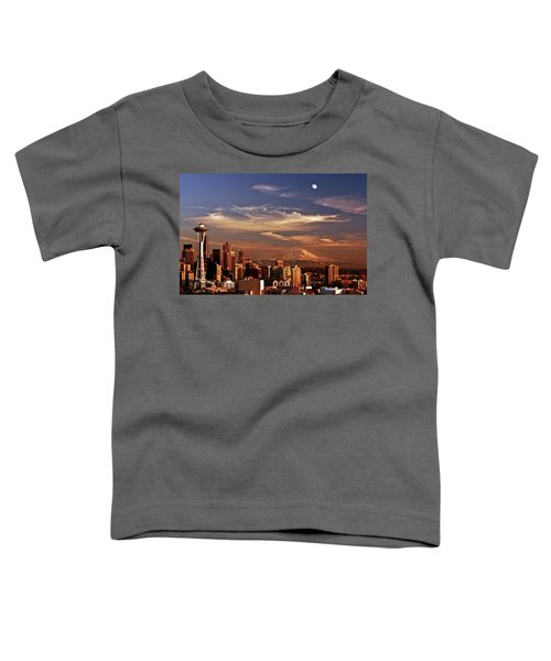 Golden Seattle Toddler T-Shirt
