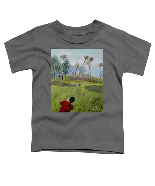 Golfing At Monarch Toddler T-Shirt