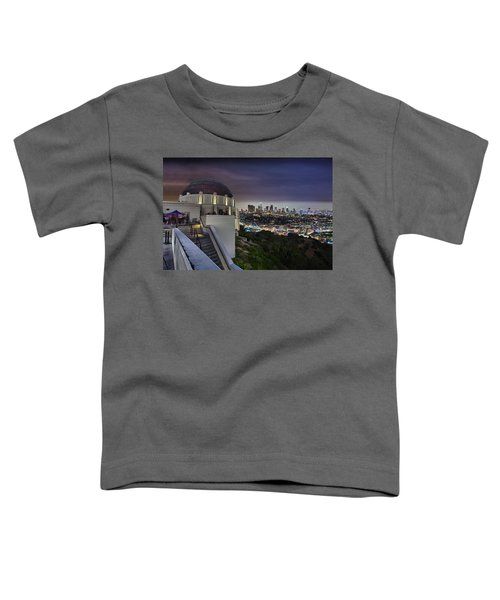 Gotham Griffith Observatory Toddler T-Shirt