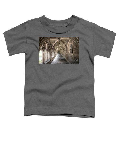 Gothic Hall At Princeton Nj Toddler T-Shirt