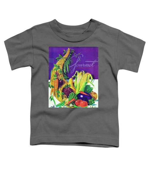 Gourmet Cover Of A Cornucopia Toddler T-Shirt
