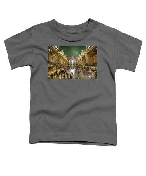 Grand Central Rush Toddler T-Shirt
