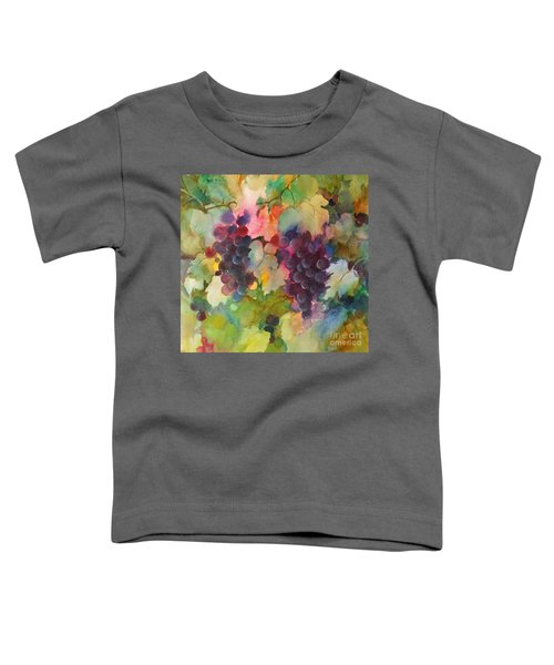 Grapes In Light Toddler T-Shirt