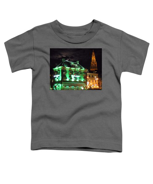 Grasshopper Bar Toddler T-Shirt by Adam Romanowicz