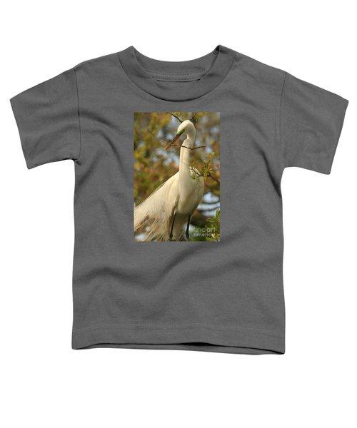 Great Egret Impressions Toddler T-Shirt