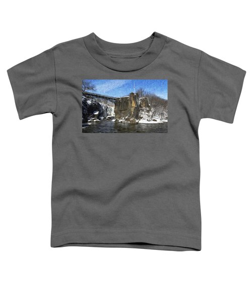 Great Falls Painted Toddler T-Shirt