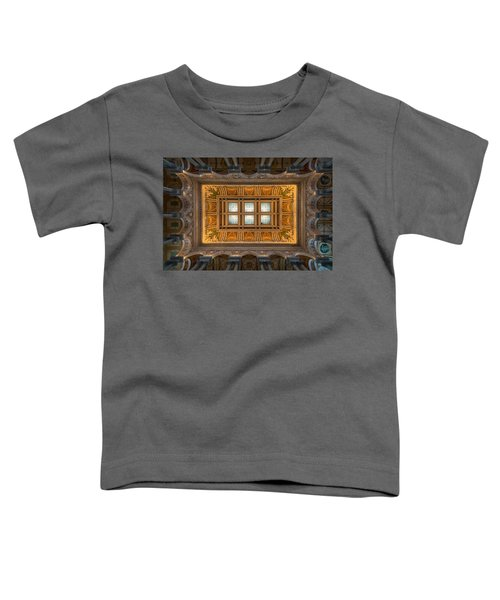 Great Hall Ceiling Library Of Congress Toddler T-Shirt
