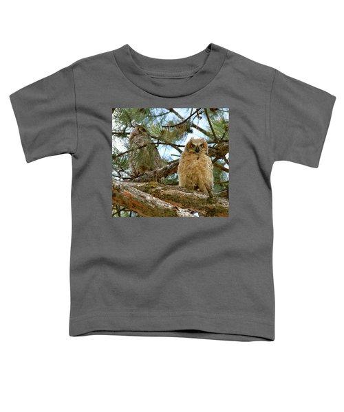 Great Horned Owls Toddler T-Shirt
