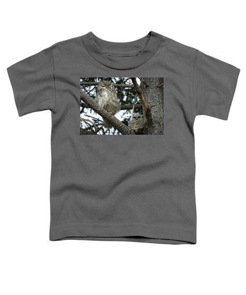 Great Horned Owls Toddler T-Shirt