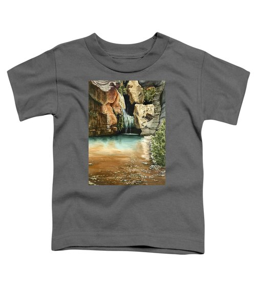 Green Falls II Toddler T-Shirt