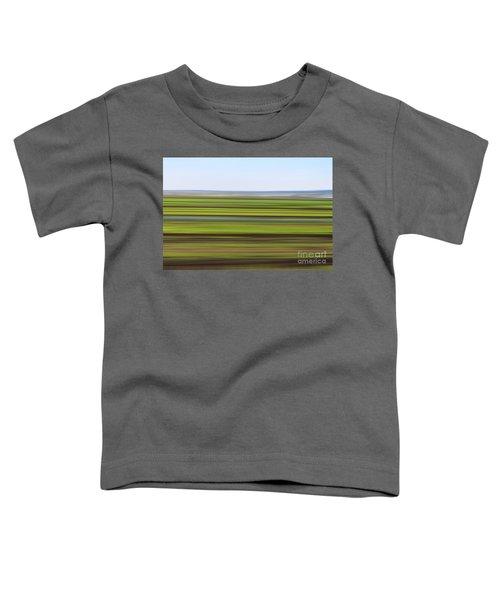 Green Field Abstract Toddler T-Shirt