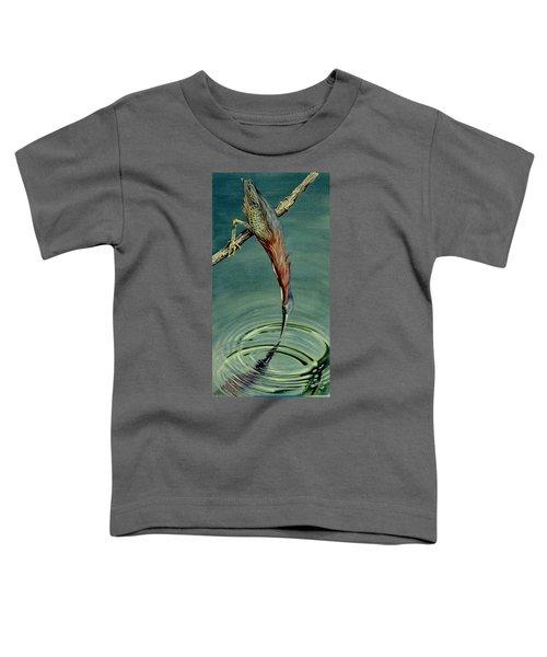 Green Heron Toddler T-Shirt
