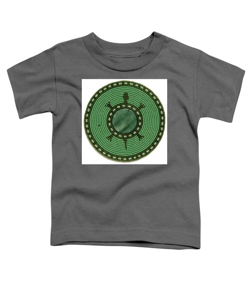 Green Shell Turtle Toddler T-Shirt