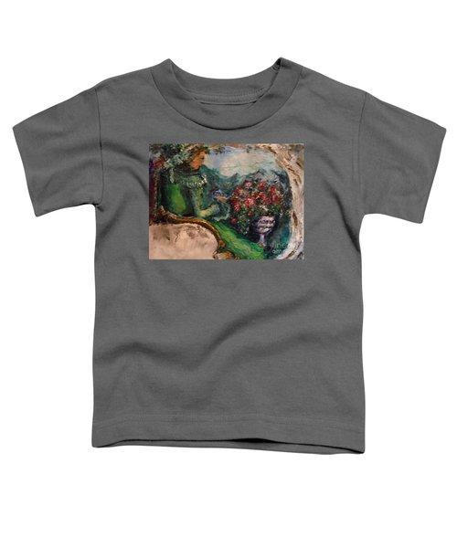 Green Tea In The Garden Toddler T-Shirt