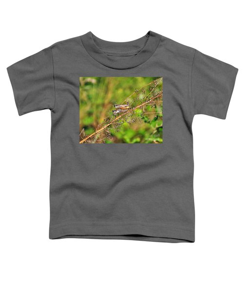 Gregarious Grasshoppers Toddler T-Shirt