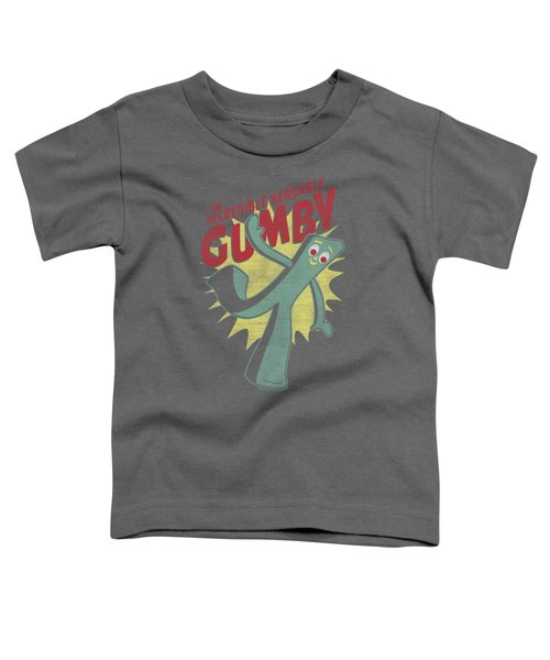 Gumby - Bendable Toddler T-Shirt