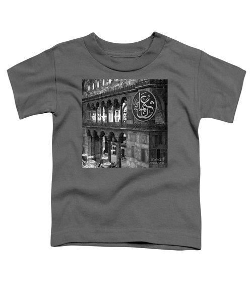 Hagia Sophia Interior 03 Toddler T-Shirt