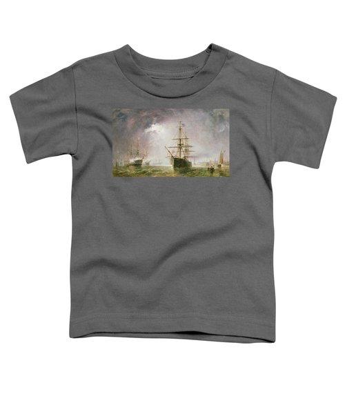 Half Mast High 19th Century Toddler T-Shirt