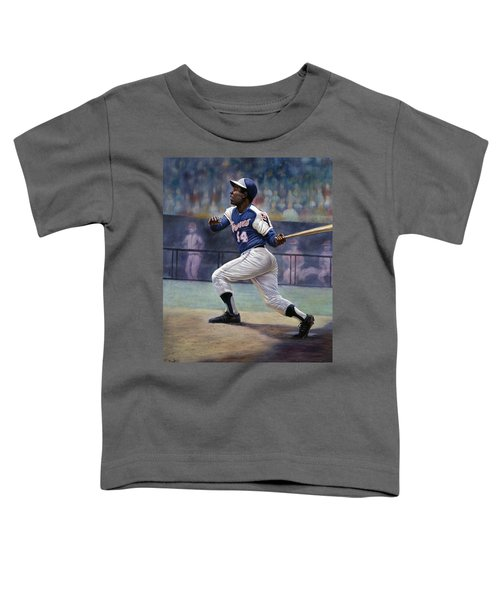 Hank Aaron Toddler T-Shirt