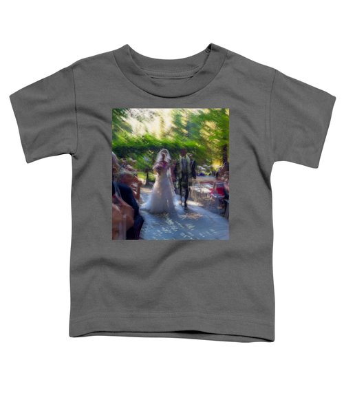 Toddler T-Shirt featuring the photograph Happily Ever After by Alex Lapidus